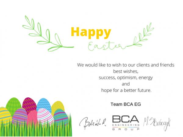 BCA EG Happy Easter 2021